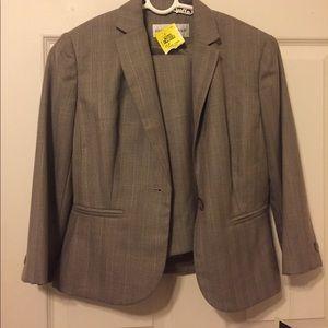 Jones New York grey suit